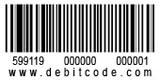 debitcode