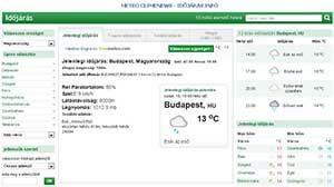METEO CLIMENEWS - IDŐJÁRÁS INFÓ